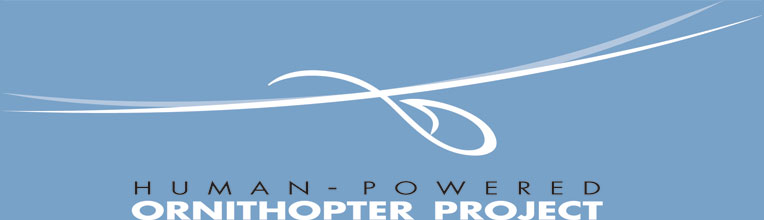 Human Powered Ornithopter Project -